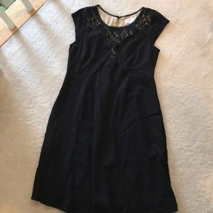 Jessica Simpson Maternity cocktail dress w/ lace